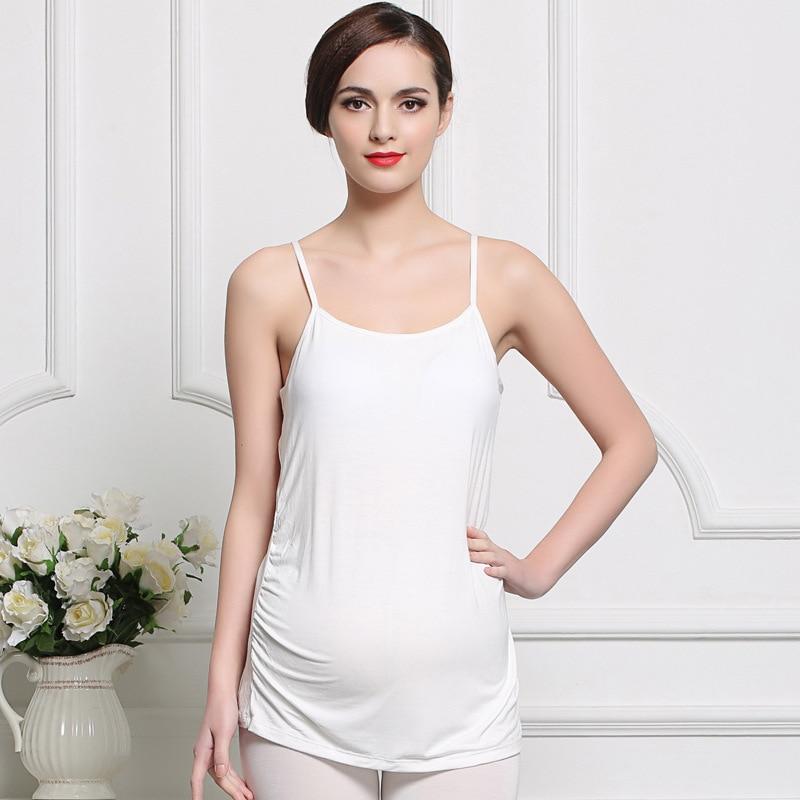 Pregnant Women Camisole Cotton Comfy Nursing Tank Tops Maternity Mothers Breastfeeding Nursing Underwear Wireless Casual Vest