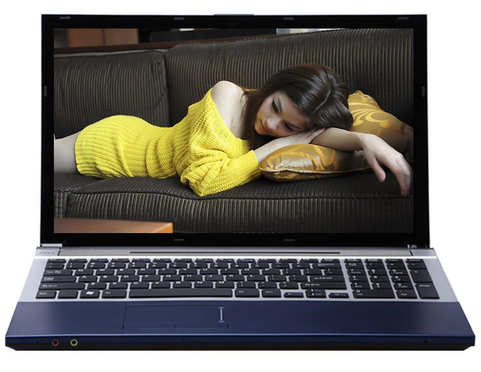 8G RAM DDR3+2000GB HDD 15.6inch LED Intel Core i7 CPU Laptop Windows 7/10 Notebo