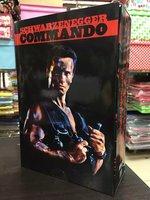 NECA Commando 30th John Matrix Arnold Schwarzenegger PVC Action Figure Collectible Model Toy 7 18cm KT1729