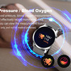 Bracelet Color Blood Oxygen Heart Rate Monitor Bluetooth Smart Watch 3