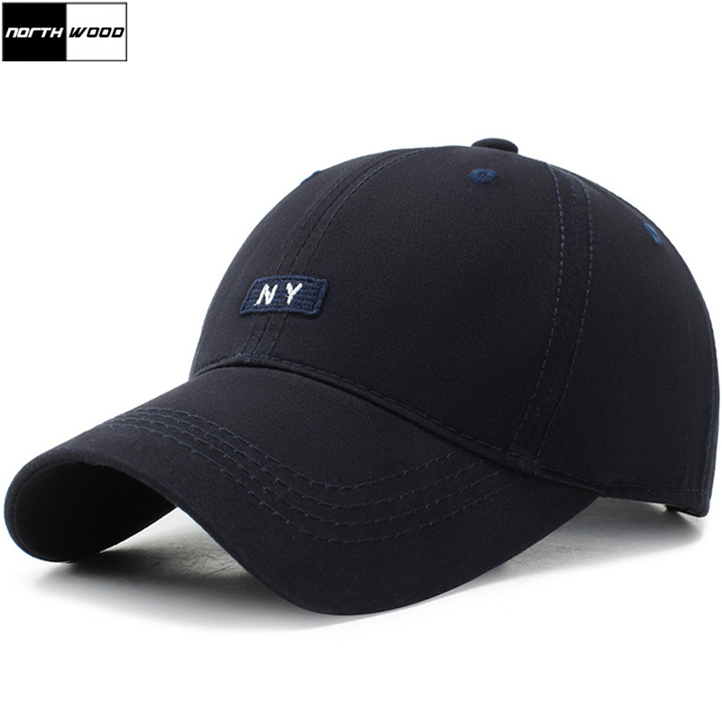 [NORTHWOOD] 2019 Cotton NY Letters   Baseball     Cap   Snapback Hat For Men Women Sun Hat Bone Gorras NY Dad Hats Summer   Cap