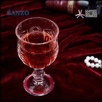 Free shipping old fashional lead free glass machine made engraving wine glass shot glass vodka glass set of 6pcs with color box