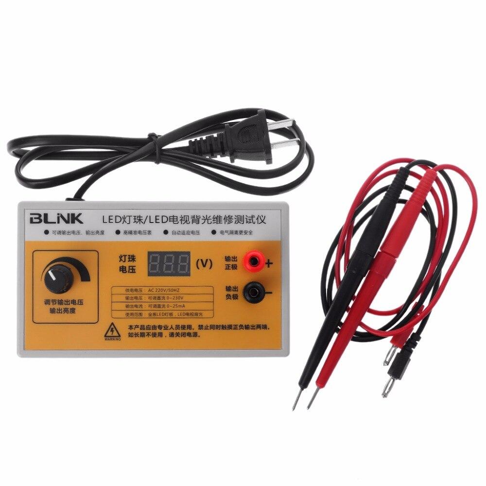 AC 220V LED TV Backlight Tester LED Strips Screen BackLit Test W Voltage Display