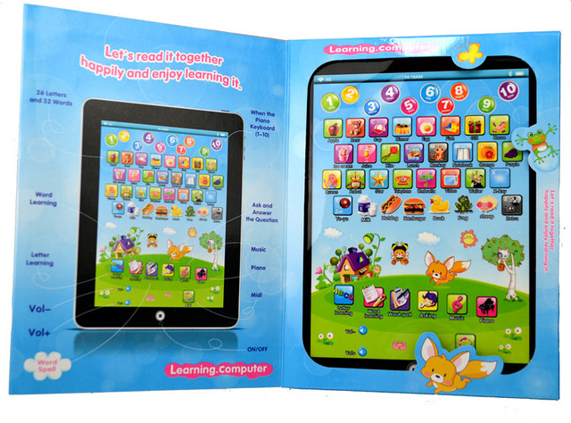 Hi honey! hot sales! Full English learning machine touch puzzle learning machine child learning machine
