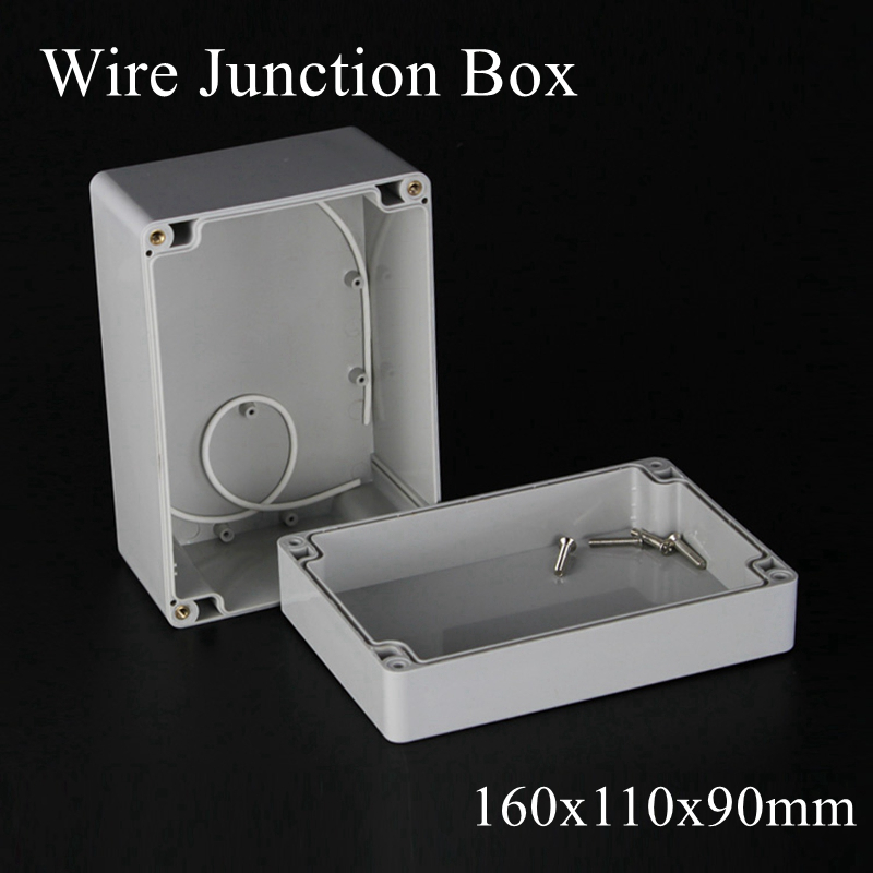 160x110x90mm Waterproof Clear Plastic Electronic Project Box Enclosure CASE