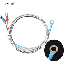 Temperature Sensor K Type Thermocouple 6MM Diameter Washer Style Surface Thermocouple Probe for PID Temperature Controller