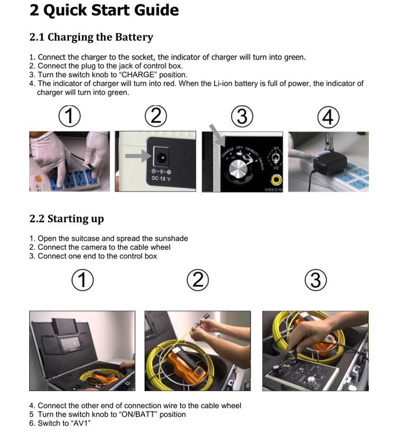 HTB1q1zeSpXXXXcEXpXXq6xXFXXXy - 9inch Pipe Sewer drain underground plumbing Inspection Camera auto self balancing 23mm camera head DVR self level
