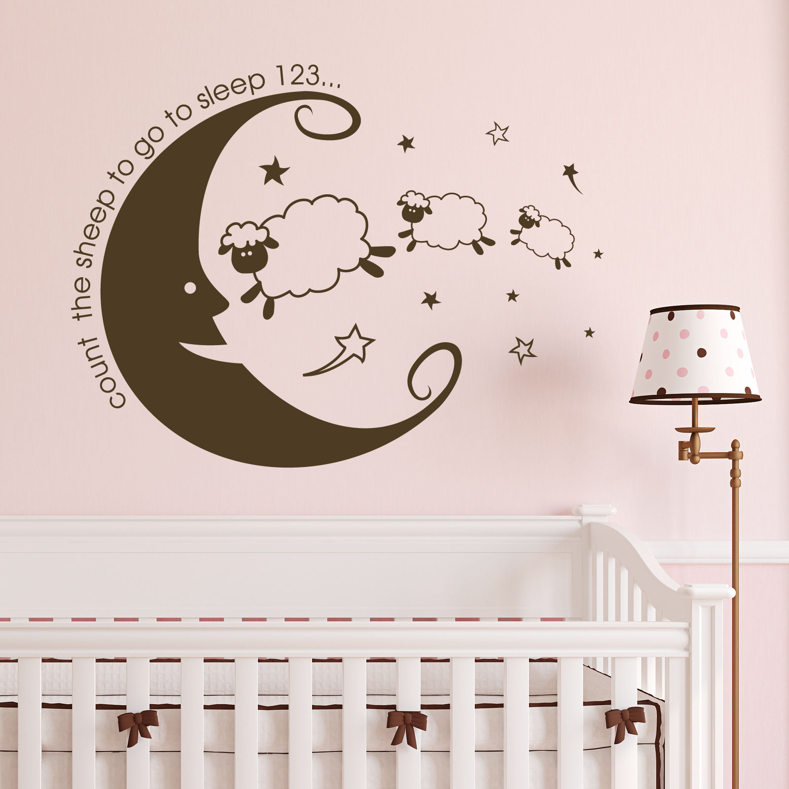 online get cheap sheep nursery aliexpress com alibaba group new kids count the sheep bedroom wall sticker vinyl nursery transter os1533 free shipping china