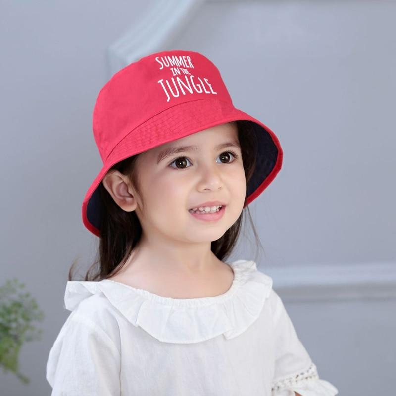 Baby favoriete kinderen roze zachte mooie baby meisjes hoed zomer - Babykleding - Foto 2