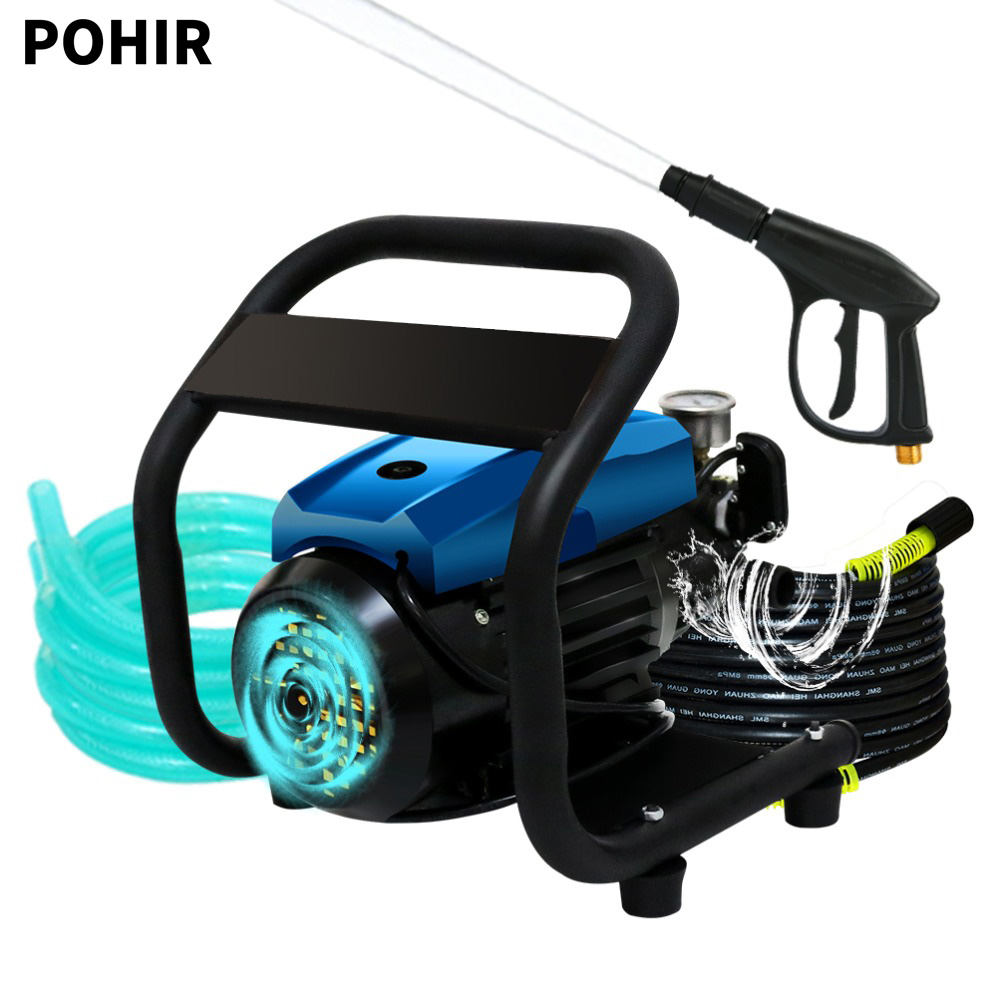 POHIR SMLDLS01 1450 PSI 1 72GPM 1800W German TBR Pressure Washer Powered By OEM Technologies Axial