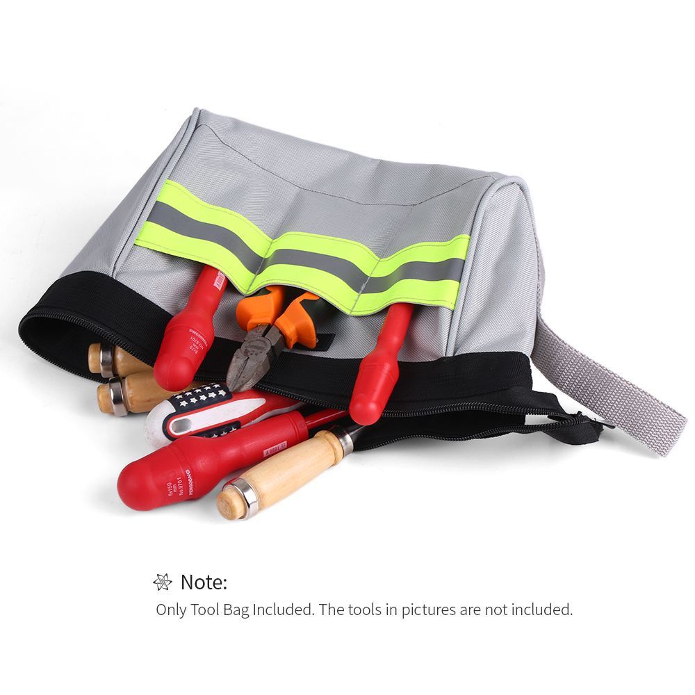 Tool Organizers 2019 New Style Storage Tool Bag Oxford Canvas Waterproof Storage Hand Tools Bag Screws Drill Bit Metal Parts Tool Organizer Pouch Work Bag Case Fixing Prices According To Quality Of Products