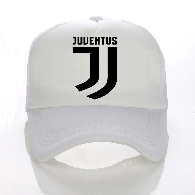 Juventus print Baseball caps Summer Adjustable Mesh cap fans club Trucker  Cap Casual Italian Gianluigi Buffon Tees hats-in Baseball Caps from Apparel  ... 090cdfbacc4