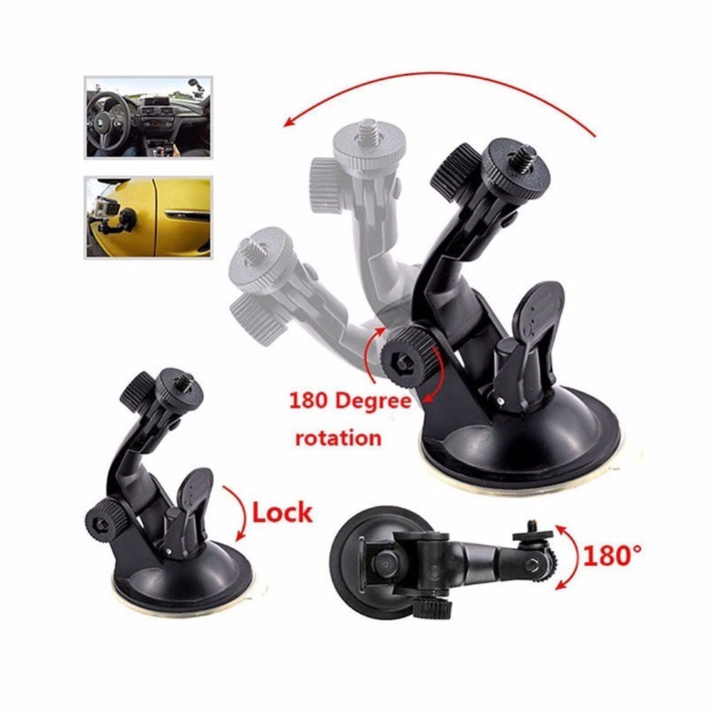 Suction Cup for gopro hero 5 for xiaomiyi 4k