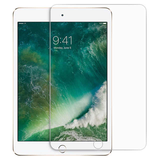 Tempered Protective Glass For Apple iPad 9.7 2018 2017 10.5 5th 6th Pro Screen Protector  Air 1 2 Mini 3 4 On 5 6 Generation