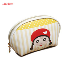 Ladies PU Waterproof Cosmetic Package Travel Necesses cosmetics Printing Organiser Fashion Women Multifunction Beauty Bag 30