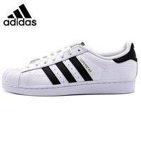 Оригинальный Новое поступление 2018 Adidas Originals Superstar унисекс Обувь для скейтбординга Спортивная обувь
