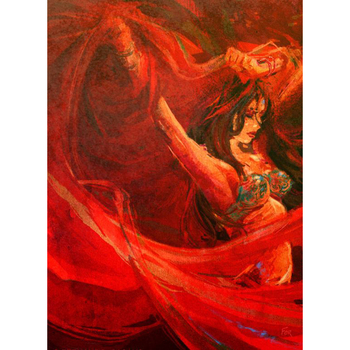 New Arrival Hand Painted Indian Woman Decorative Wall Paintings Images