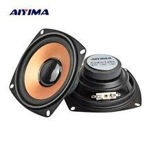 AIYIMA 2 Adet 4 Inç 4Ohm 5 W Ses Hoparlör Bas Woofer Hoparlör DIY Stereo bluetooth hoparlör Ev Sineması Ses sistemi