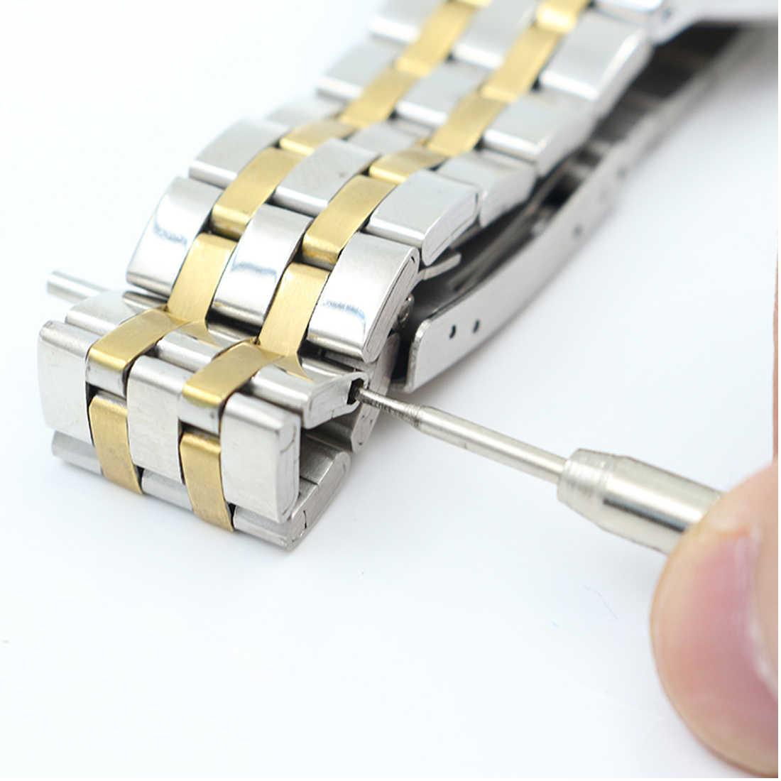מתכת שעון להקת נירוסטה צמיד רצועת השעון פותחן רצועת להחליף אביב בר חיבור פין Remover כלי
