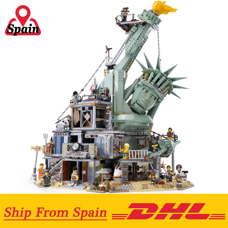 Dhl 45014 Movie 3560pcs Compatible With Legoing 70840 Welcome To Apocalypseburg Set Building Blocks Bricks Kids Toys Gift A Lego Lego Seriesship In A Bottle Aliexpress