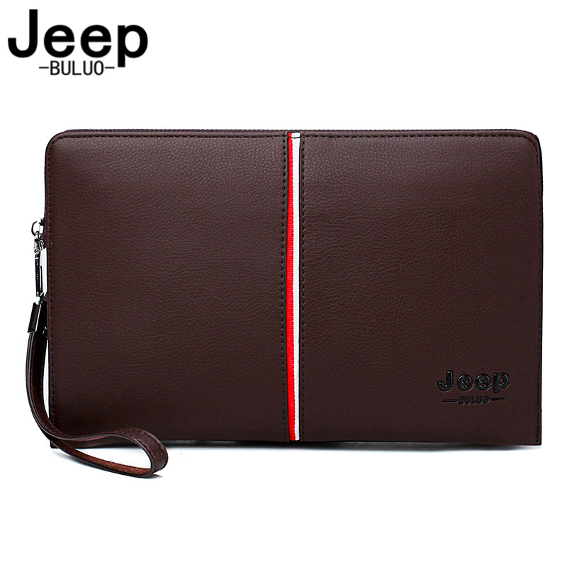 Men/'s Handbags Clutch Wallet Large Capacity Soft Black Leather Solid Zipper Flap