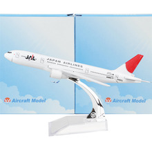 Japan Airlines Boeing 777  16cm model airplane kits child Birthday gift plane models toys  Christmas gift