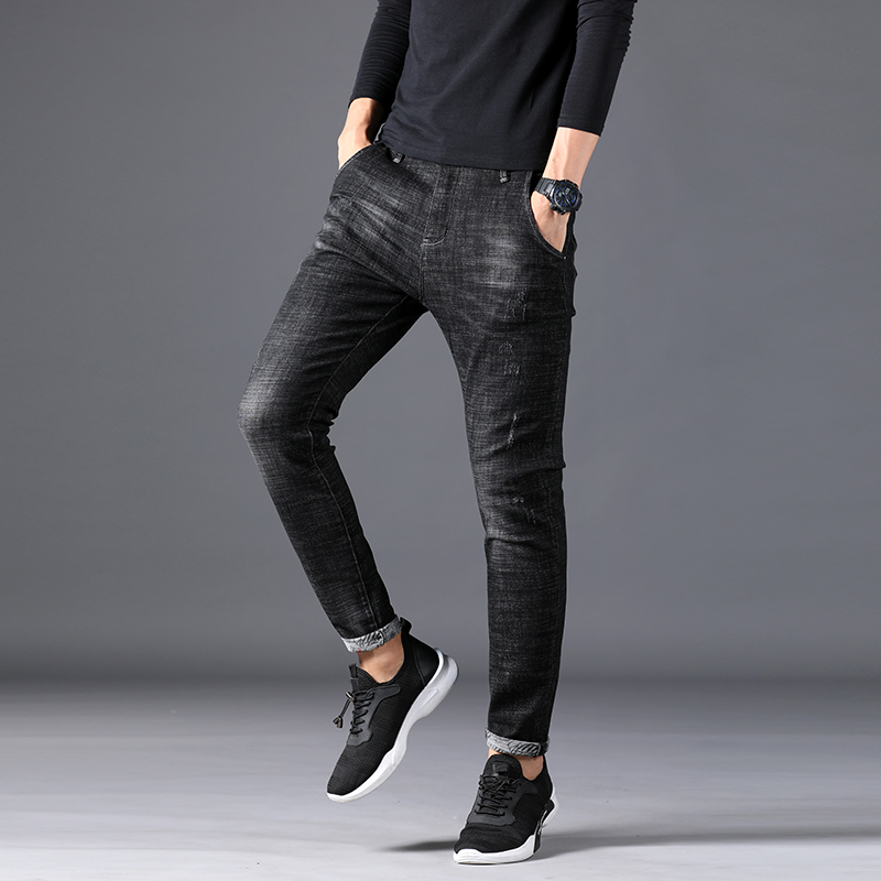 f127c410016 Hommes-Jeans-Homme -Maigre-Pantacourt-Biker-Moto-Hip-Hop-Masculina-Noir-Streetwear-Joggeurs-R-duit-Pantalon.jpg