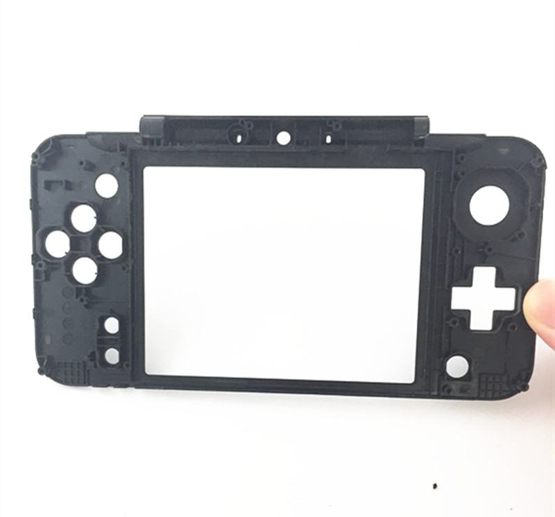 2PCS/LOT Black Replacement Housing Middle Frame Cradle Cover Repair Part for Nintendo Ne ...