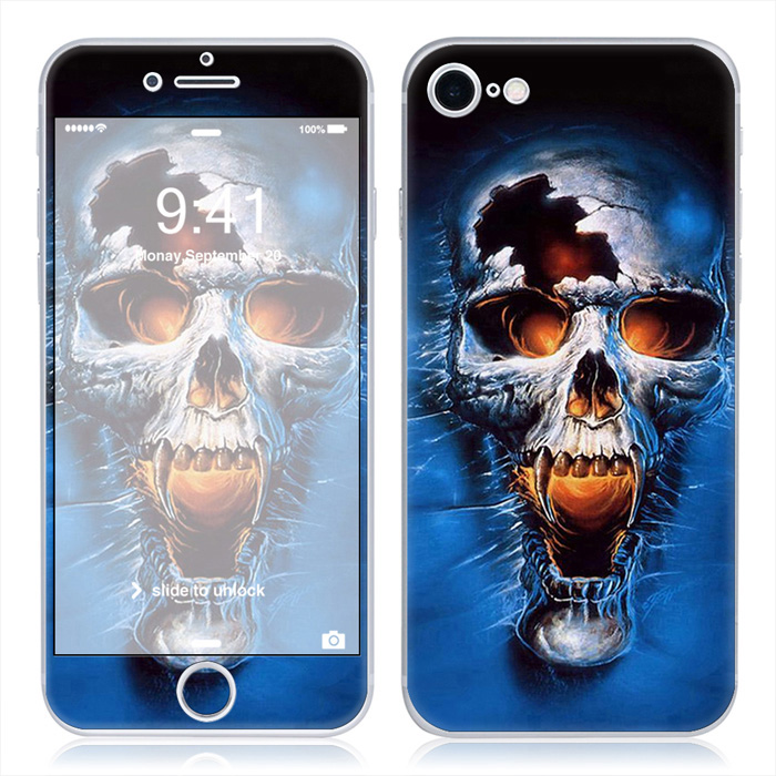 Free Drop Shipping Personalized Decal Skin For Apple iPhone 7 4 7inch 7 Plus 5 5inch