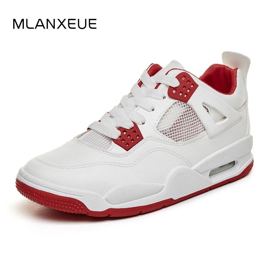 MLANXEUE Hot Sale Mesh Breathable Men Shoes Air Non-Slip Casual Men Shoes Fashion Plus Size White Shoes Spring Autumn Male Shoe