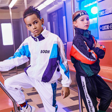 Set Packaging Kids  Performance Uniform Clothing SetsJazz Hip-Hop Stage Wear Dance Clothes Sets Tops & Pants