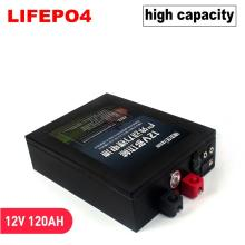12V Rechargeable battery pack LiFePo4 High capacity lithium iron phosphate 12.8V 40ah 60AH 120ah with BMS board send charger UPS