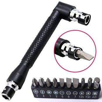 Petpig Dual Kepala Berbentuk L Mini Socket Wrench 1/4  2