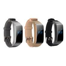 Talkband Bluetooth Smart Band Портативный говорить часы Браслет фитнес-трекер Браслет SmartBand шагомер для IOS Android PK LF16