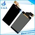 Probado lcd del teléfono móvil para sony xperia v lt25 lt25i con pantalla táctil digitalizador de reparación de piezas de 1 unidades envío gratis