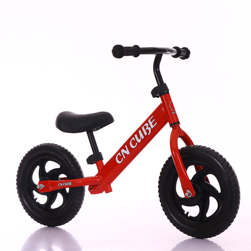 Abdo Children's Kids Two Wheel Balance Child Walker Portable Bike 1 To 5 Years Old No Foot Pedal Kids Baby Walker Toy Scooter