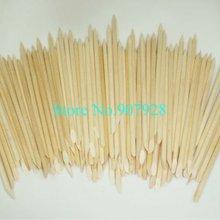 500(= 5 мешков) x 11,5 см оранжевый деревянные для ногтей художественные палочки маникюрные палочки для ухода за ногтями