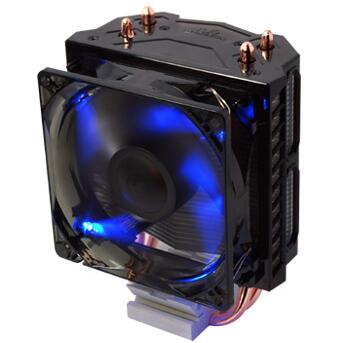 2 heatpipe tower side blown CPU fan CPU cooler Intel LGA font b 775 b font
