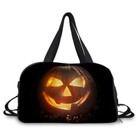 happy halloween style Sport duffle Training Gym Bags Men Woman Fitness Durable Outdoor Sporting Shoulder weekend travel