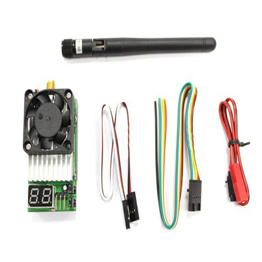 New Boscam 5.8G 5.8Ghz 32CH 1500mw TS800 FPV Wireless AV Mini Transmitter Tx with antenna/LED Display Support AAT Tracking fpv 1 2ghz 100mw 4ch wireless audio