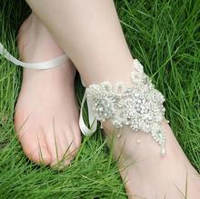 4981879f22caa9 Buy wedding barefoot sandals and get free shipping on AliExpress.com