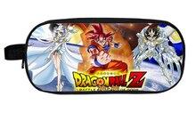 Dragon Ball Z Sun Goku Super Mario Boy Girl Cartoon Pencil Case Bag School Pouches Children Student Pen Bag Kids Purse Wallet