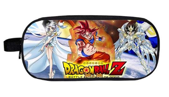 Dragon Ball Z Sun Goku PU Short Wallet Purse
