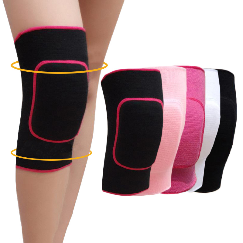 1Pair Children Sport Knee Pads Protector Skating Dance Training Shockproof Knee Protection Elastic Breathable Pads Sports Safety