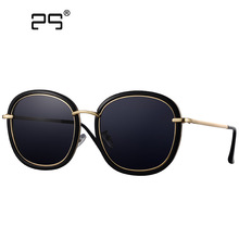 COLECAO Vintage Sunglasses Women Polarized 2017 New Fashion designer Points Mirror Colored Lenses for Driving Sun Glasses Women