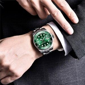 Image 3 - PAGANI עיצוב מותג יוקרה גברים שעונים עסקי ספורט עמיד למים אוטומטי מכאני ספיר שעוני יד Relogio Masculino 2019