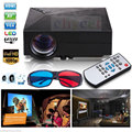 Chycet GM60 Cheap Mini Projector 1000 Lumens Multimedia Mini Portable LED Proyector Support 1920*1080 Home Theater Beamer
