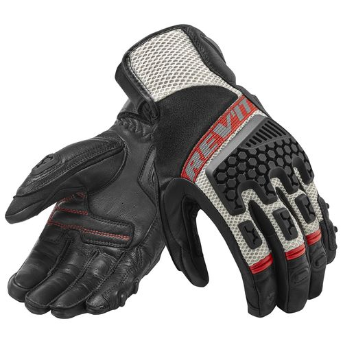REVIT new black sheepskin desert 3 professional version motorcycle riding gloves breathable off road in Gloves from Automobiles Motorcycles