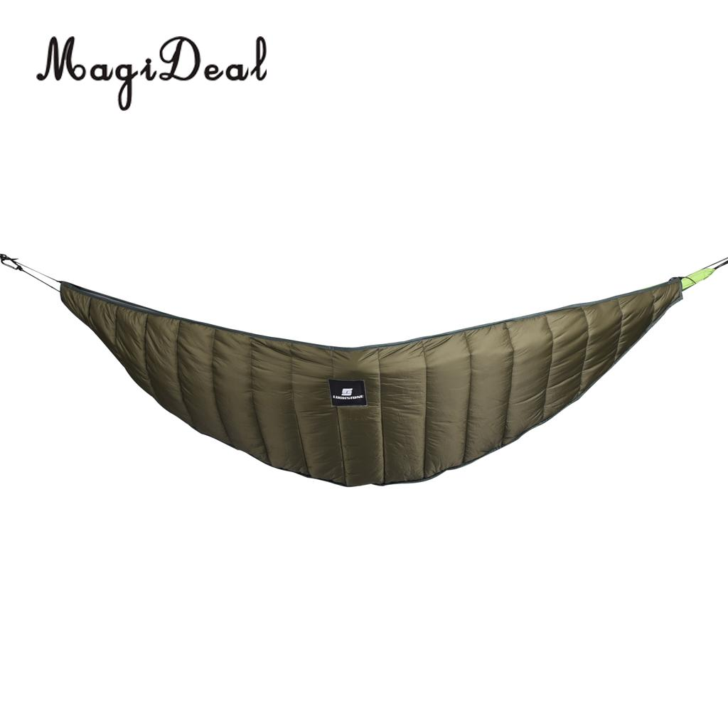 MagiDeal Outdoor Full Length Hammock Underquilt Ultralight Winter Under Quilt Blanket for Camping Hiking Backyard Accessories