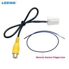 LEEWA Car Parking Reverse Rear Camera Video Plug Converter Cable Adapter For Mazda Atenza/CX-5 OEM Car Head Unit Models #2607